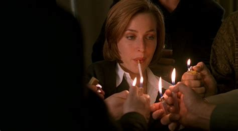 X Files With The Lights On by Three Of A X Files Wiki David Duchovny Gillian