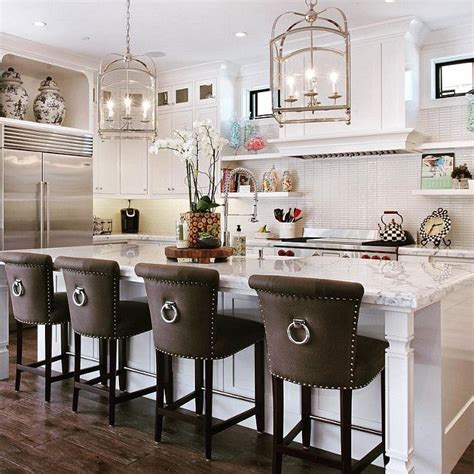 add your kitchen with kitchen island with stools midcityeast best 25 upholstered bar stools ideas on pinterest wood
