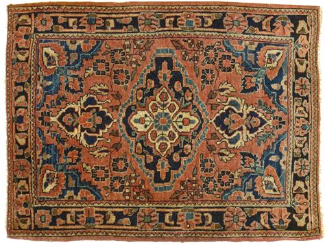 tappeti antichi persiani sarouk cm 65 x 83 morandi tappeti