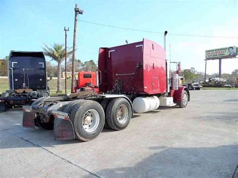 peterbilt 379 extended 2005 sleeper semi trucks