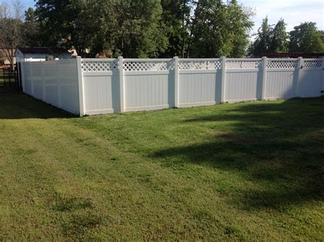 vinyl fencing company fence company signature fence company in richmond