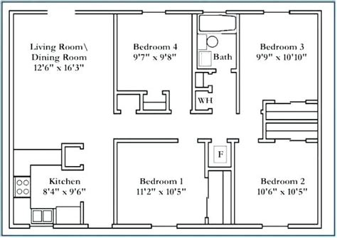 average size   bedroom  home makers