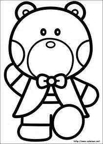Keroppi And Chococat Colouring Pages Page 2 sketch template