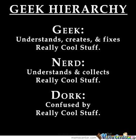 Dork Meme - geek nerd dork by michael chane meme center