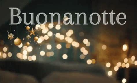 buonanotte natalizio natalizia buona notte natle dormi bene luci  natale letto natale gif