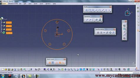pattern a sketch catia catia sketch pattern youtube