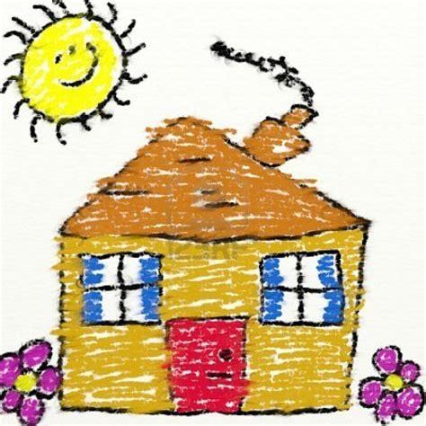 casa bambino 1584021 bambini stile di disegno di una casa di gesso con