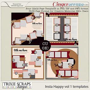 happy volume 1 tp gingerscraps templates seeing volume 13