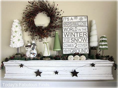 ideas for after christmas decor mantle decor pinterest