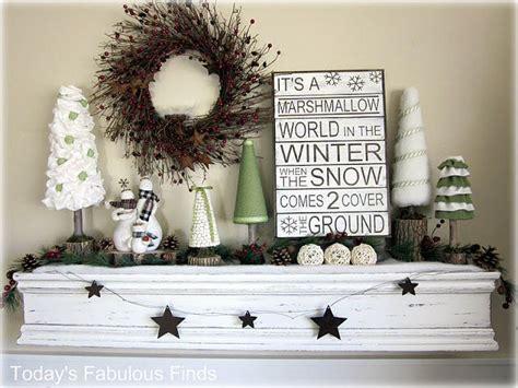 ideas for after christmas decor mantle decor pinterest