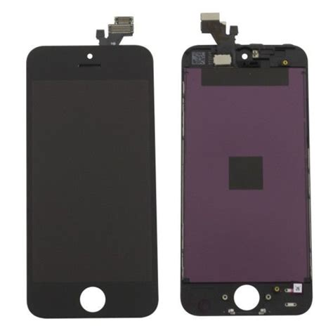 Lcd Iphone 5 Biasa ecran lcd complet iphone 5 noir original lapommediscount