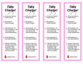 Breast Cancer Brochure Template Free by Dakota Womens Way Educational Materials
