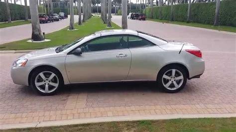 how make cars 2008 pontiac g6 auto manual 2007 pontiac g6 gt hardtop convertible 44k low miles one owner car youtube