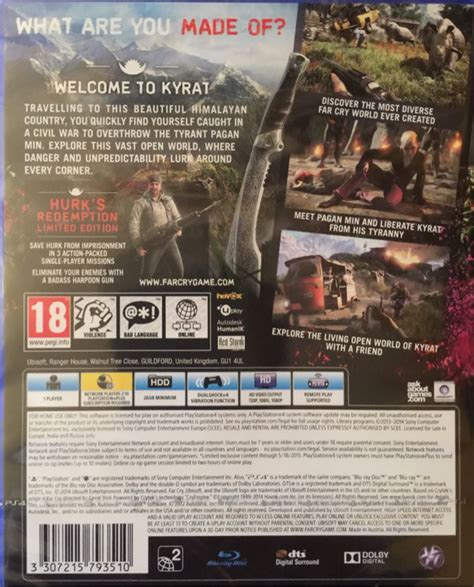 Far Cry 4 Ps4 2nd far cry 4 ps4 uk from sort it apps