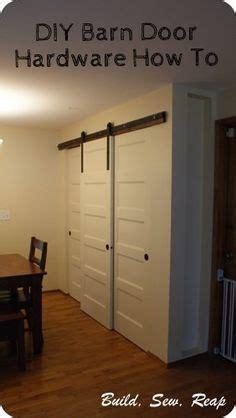 How To Build Barn Door Hardware Diy Barn Door Hardware Barn Doors And Diy Barn Door On