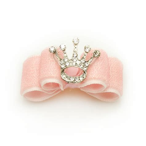 yorkie bows accessories dreambows handmade puppy accessories pets princess crown