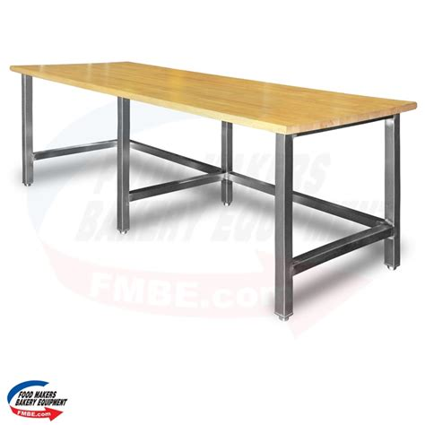 Top Table L by 36 Quot W X 84 Quot L Maple Top Table