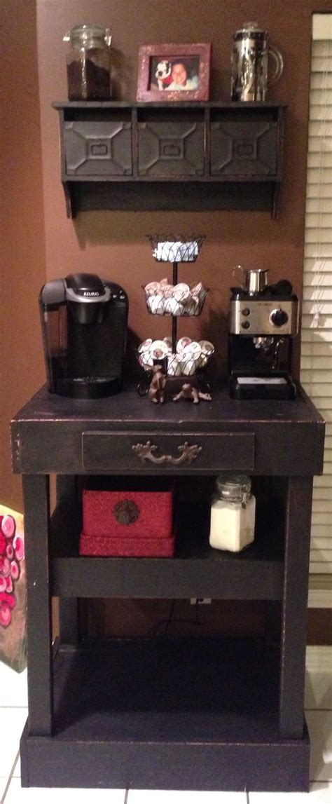 Coffee Station Table 25 Best Ideas About Home Coffee Bars On Pinterest Home Coffee Stations Diy Coffee Shelf And