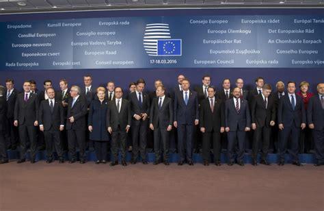 presidente consiglio dei ministri europeo consiglio europeo migranti ue cerca un accordo con la