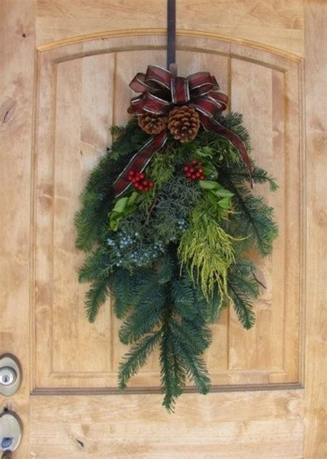 how to make xmas cedar swags 28 inch noble fir swag with juniper and pine