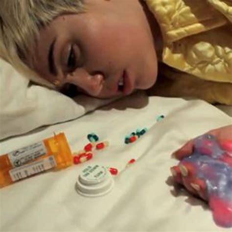 miley cyrus krasses drogen video bravo