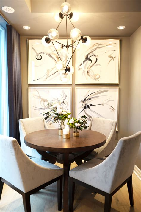 small apartment sized dining room decor   table