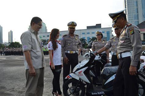 Patch Rubber Jatanras Polda Metro Jaya motor matic honda jadi unit praktik ujian sim naik motor jurnal pengendara motor