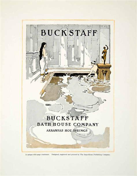 buckstaff bath house hot springs ar 1913 mini poster buckstaff bath house hot springs arkansas women national park ebay