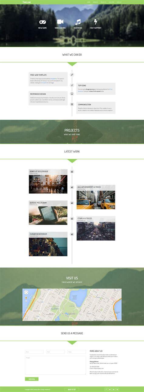 timeline template   premium website templates