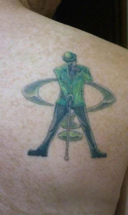 riddler tattoo riddler pop cult batmania 3 3