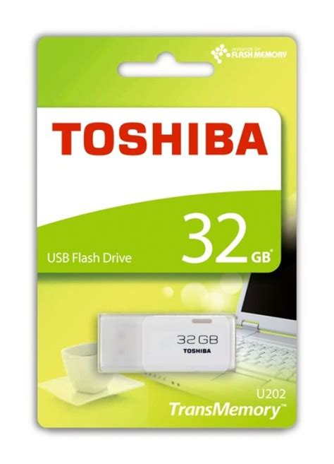 toshiba gb transmemory  usb flash drive white ebuyer