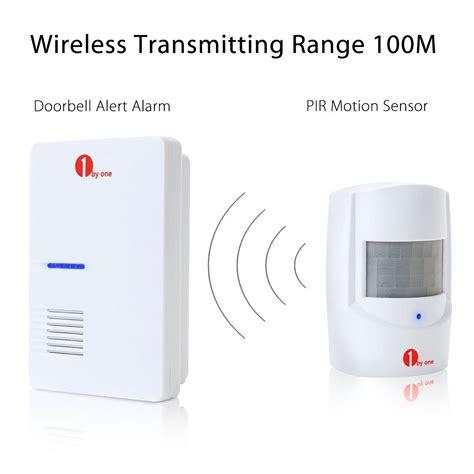 infrared driveway wireless motion outdoor alarm sensor
