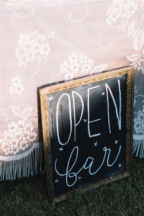 Wedding Budget Open Bar by Best 25 Open Bar Wedding Ideas On Wedding