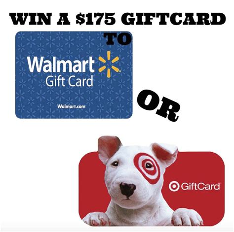 Bath And Body Works Gift Card Walmart - enter to win a 175 target or walmart gift card thrifty momma ramblings