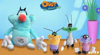 oggy cockroaches soft toys