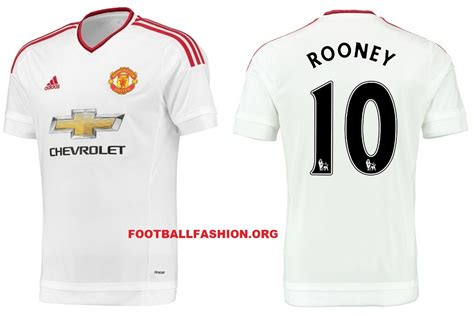 Jersey Manchester United 2015 2016 Away manchester united fc 2015 16 adidas away kit football fashion org