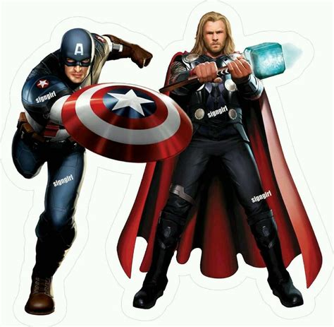 Whi Is The Vinyl Avenger At Kpft - thor captain america the avenger fathead wall