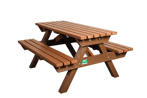 heavy duty recycled plastic picnic bench marmax recycled