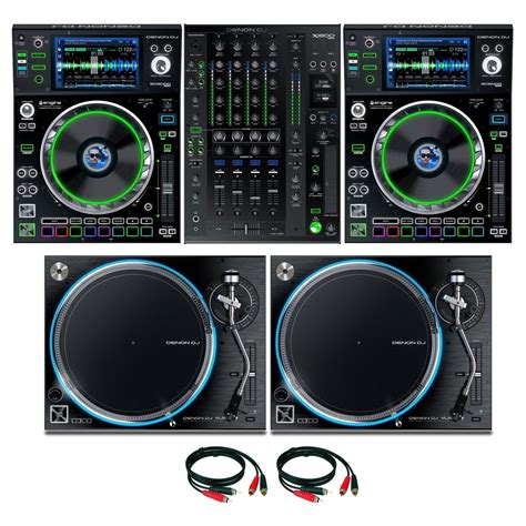 dj prime denon dj prime series complete bundle at gear4music