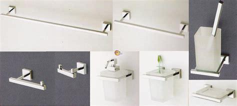 flab accessori bagno flab accessori bagno set pezzi linea quadra flab arredare
