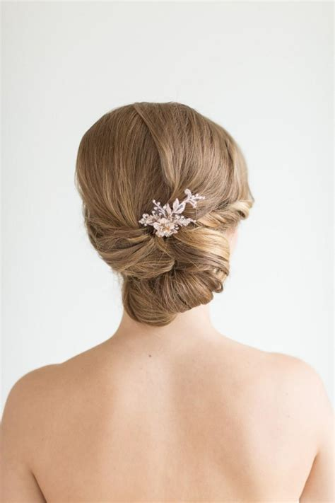 wedding hair pins bridal hair pins flower wedding hair