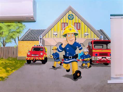 fireman sam wall mural fireman sam wall mural wall murals ideas