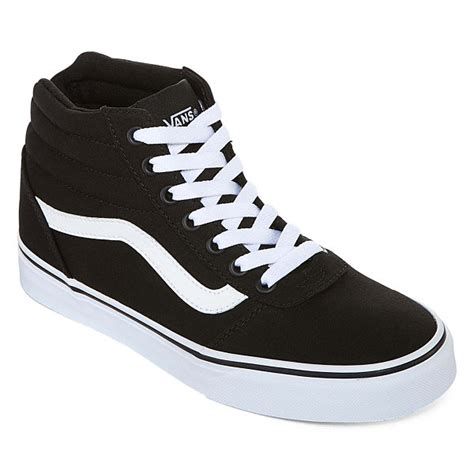 jcpenny shoes vans ward hi womens skate shoes jcpenney