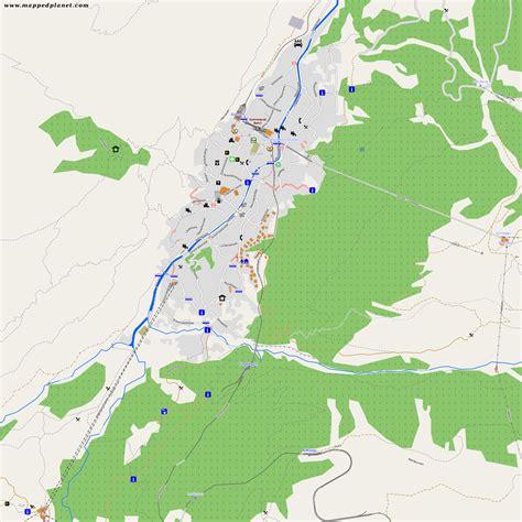 city maps zermatt