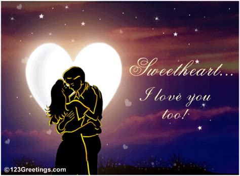 Lovelove Anime Wedding Animation by I Your Free For Your Ecards Greeting Cards