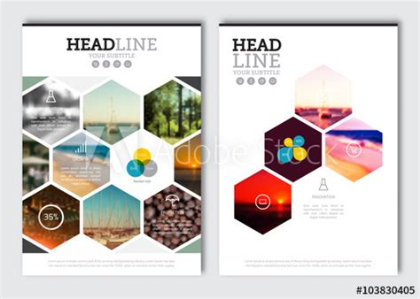 magazine cover layout design vector business brochure design template vector flyer layout