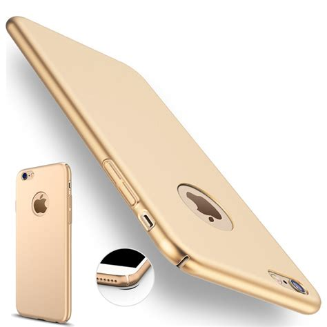 Iphone 7 7s Plus 360 Protection Slim Matte Cover Casing Armor aliexpress buy for iphone 7 plus iphone 7 gold