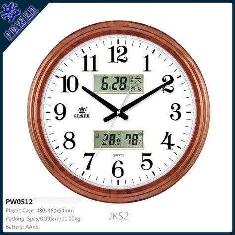 analog and digital wall clock lcd digital wall clocks wall clocks with day and date