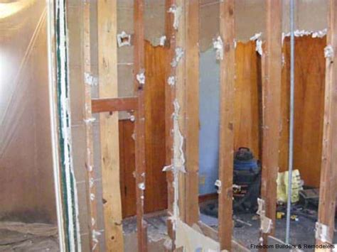 gutting a bathroom bathroom remodeling vs renovation freedom builders