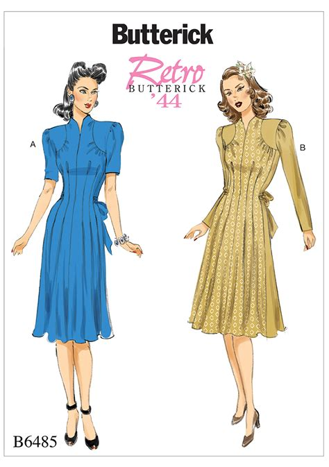 pattern review butterick 5554 butterick butterick 6485